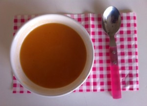 Soupe tomates gingembre